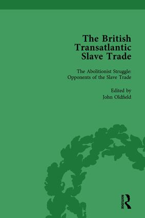 The British Transatlantic Slave Trade Vol 3: 1st Edition (Hardback) book cover