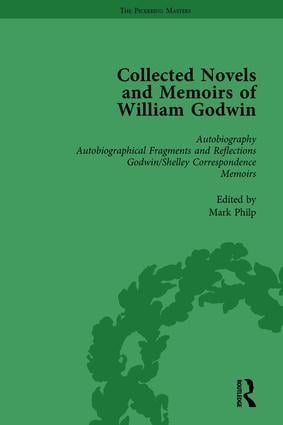 The Collected Novels and Memoirs of William Godwin Vol 1: 1st Edition (Paperback) book cover