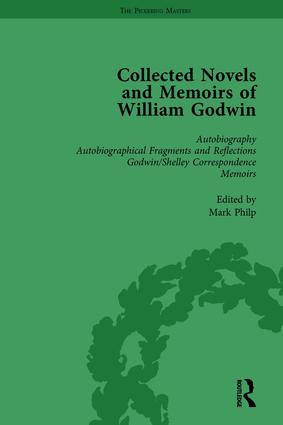 The Collected Novels and Memoirs of William Godwin Vol 1 book cover
