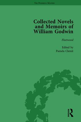 The Collected Novels and Memoirs of William Godwin Vol 5 book cover