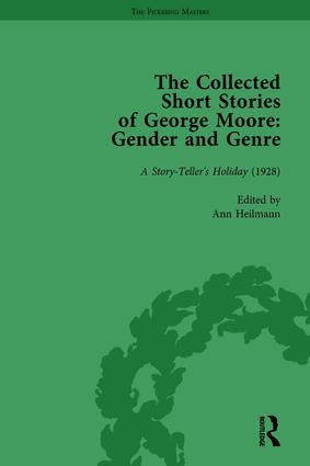 The Collected Short Stories of George Moore Vol 4: Gender and Genre, 1st Edition (Hardback) book cover