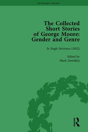 The Collected Short Stories of George Moore Vol 5: Gender and Genre, 1st Edition (Hardback) book cover