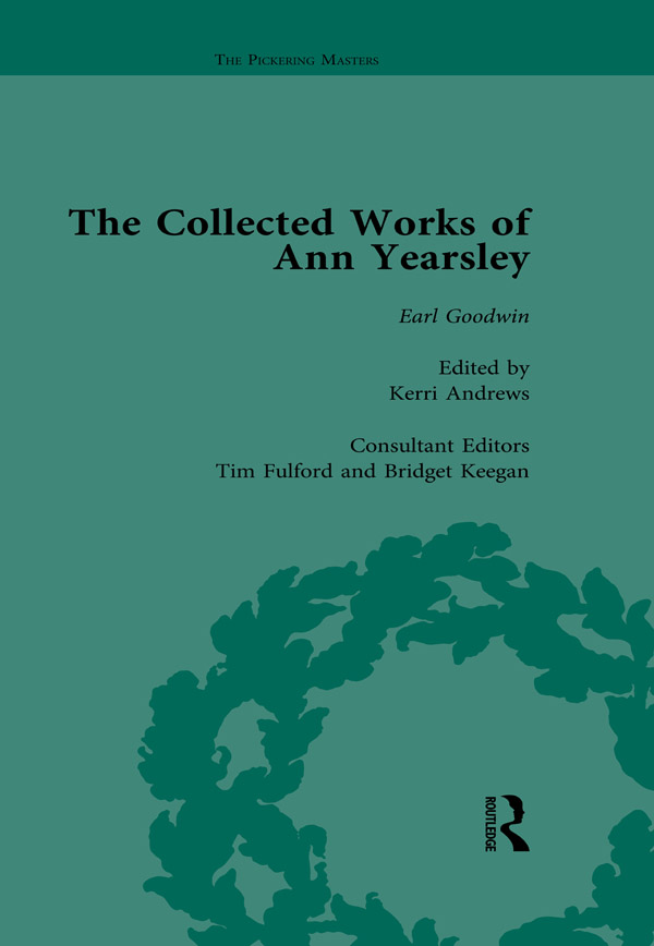 The Collected Works of Ann Yearsley Vol 2