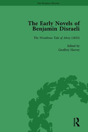 The Early Novels of Benjamin Disraeli Vol 4 book cover