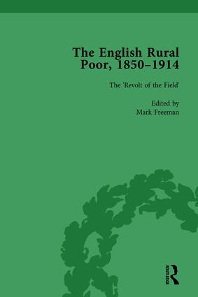 The English Rural Poor, 1850-1914 Vol 2: 1st Edition (Hardback) book cover