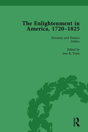 The Enlightenment in America, 1720-1825 Vol 1