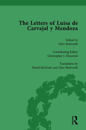 The Letters of Luisa de Carvajal y Mendoza Vol 2: 1st Edition (Hardback) book cover