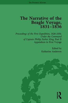 The Narrative of the Beagle Voyage, 1831-1836 Vol 2: 1st Edition (Hardback) book cover