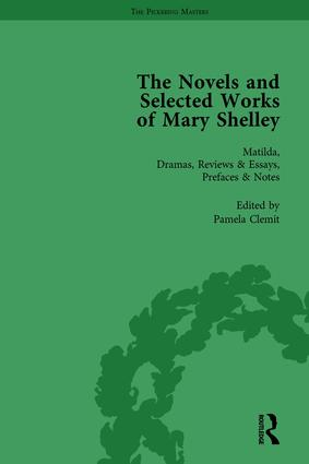 The Novels and Selected Works of Mary Shelley Vol 2: 1st Edition (Hardback) book cover