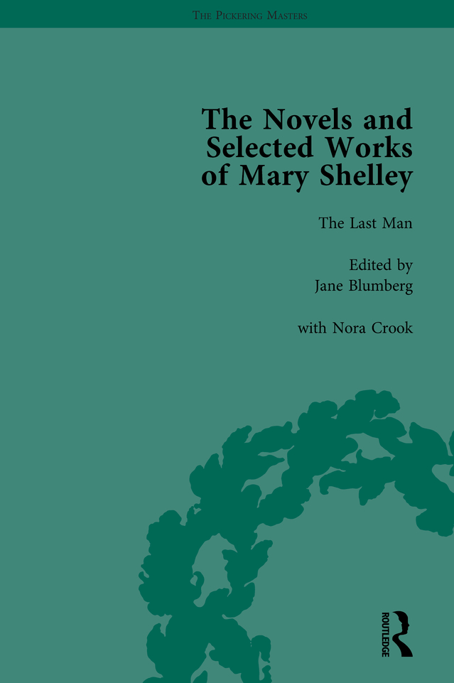 The Novels and Selected Works of Mary Shelley Vol 4: 1st Edition (Hardback) book cover