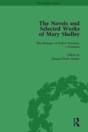 The Novels and Selected Works of Mary Shelley Vol 5: 1st Edition (Hardback) book cover