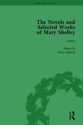 The Novels and Selected Works of Mary Shelley Vol 6: 1st Edition (Hardback) book cover