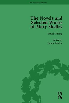 The Novels and Selected Works of Mary Shelley Vol 8: 1st Edition (Hardback) book cover
