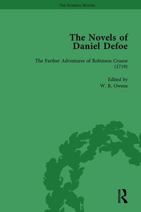 The Novels of Daniel Defoe, Part I Vol 2 book cover