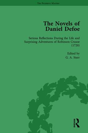 The Novels of Daniel Defoe, Part I Vol 3: 1st Edition (Paperback) book cover