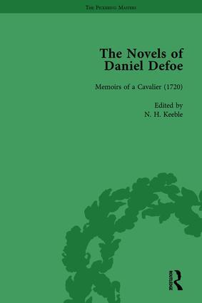 The Novels of Daniel Defoe, Part I Vol 4: 1st Edition (Paperback) book cover