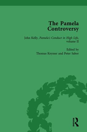The Pamela Controversy Vol 5: Criticisms and Adaptations of Samuel Richardson's Pamela, 1740-1750, 1st Edition (Hardback) book cover