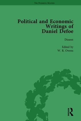 The Political and Economic Writings of Daniel Defoe Vol 3 book cover