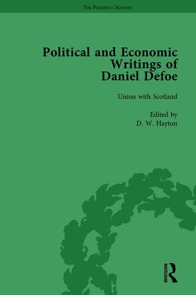 The Political and Economic Writings of Daniel Defoe Vol 4 book cover