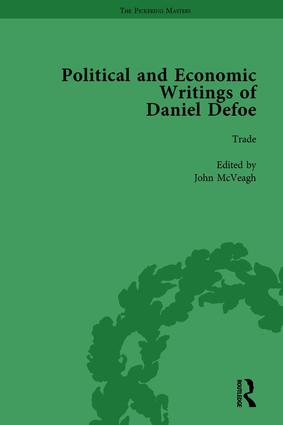 The Political and Economic Writings of Daniel Defoe Vol 7 book cover