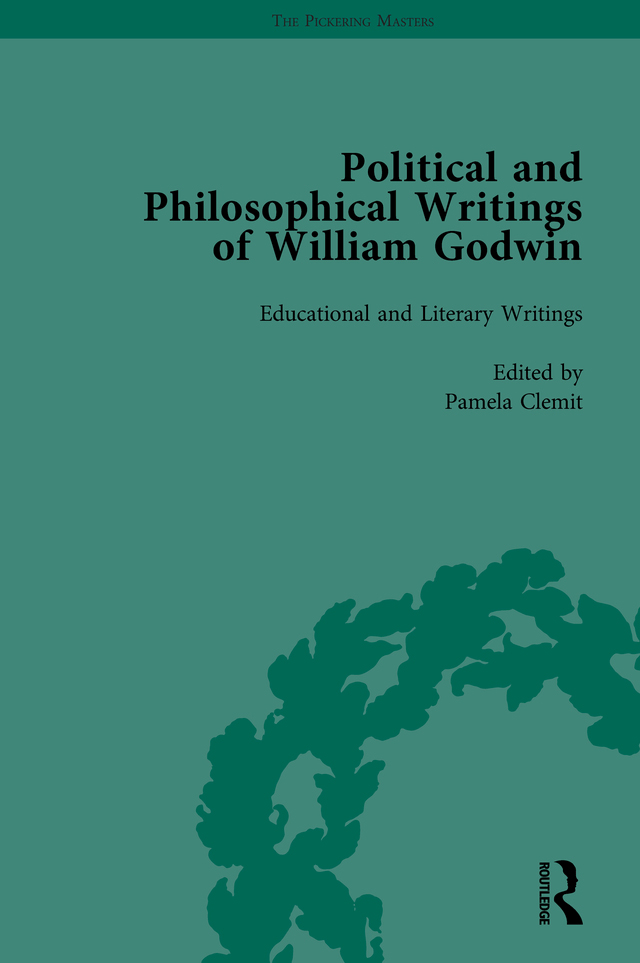 The Political and Philosophical Writings of William Godwin vol 5: 1st Edition (Hardback) book cover