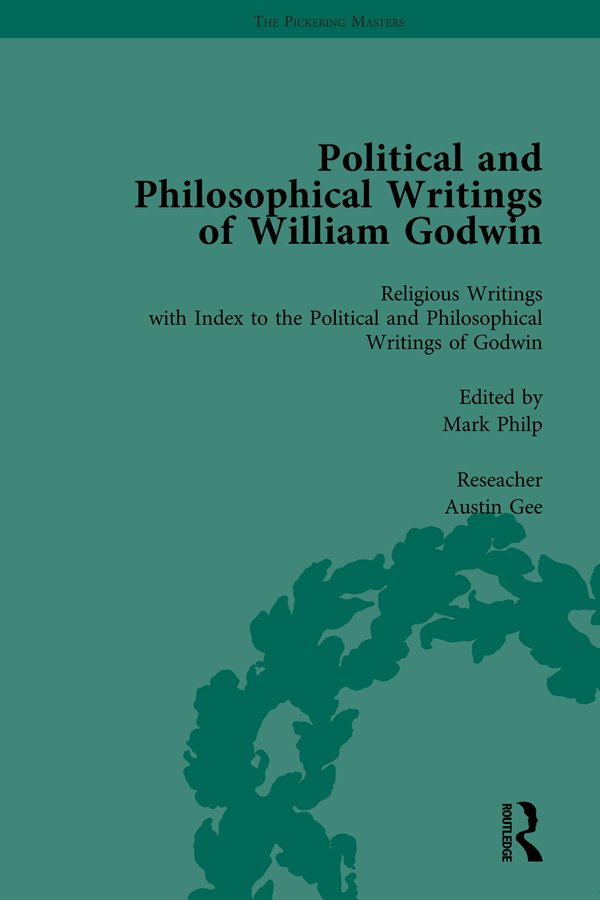 The Political and Philosophical Writings of William Godwin vol 7: 1st Edition (Hardback) book cover