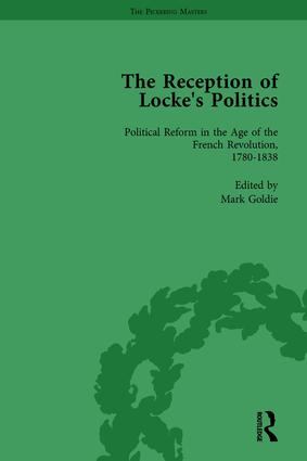 The Reception of Locke's Politics Vol 4: From the 1690s to the 1830s, 1st Edition (Hardback) book cover