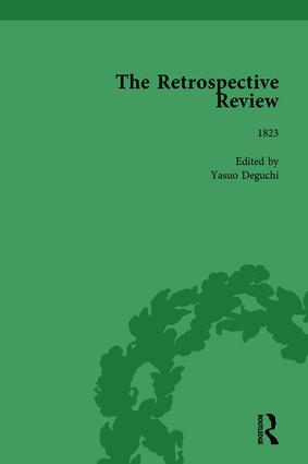 The Retrospective Review Vol 7: 1st Edition (Hardback) book cover