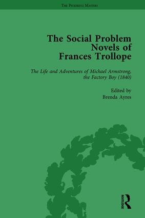 The Social Problem Novels of Frances Trollope Vol 3: 1st Edition (Hardback) book cover