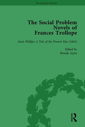 The Social Problem Novels of Frances Trollope Vol 4: 1st Edition (Hardback) book cover
