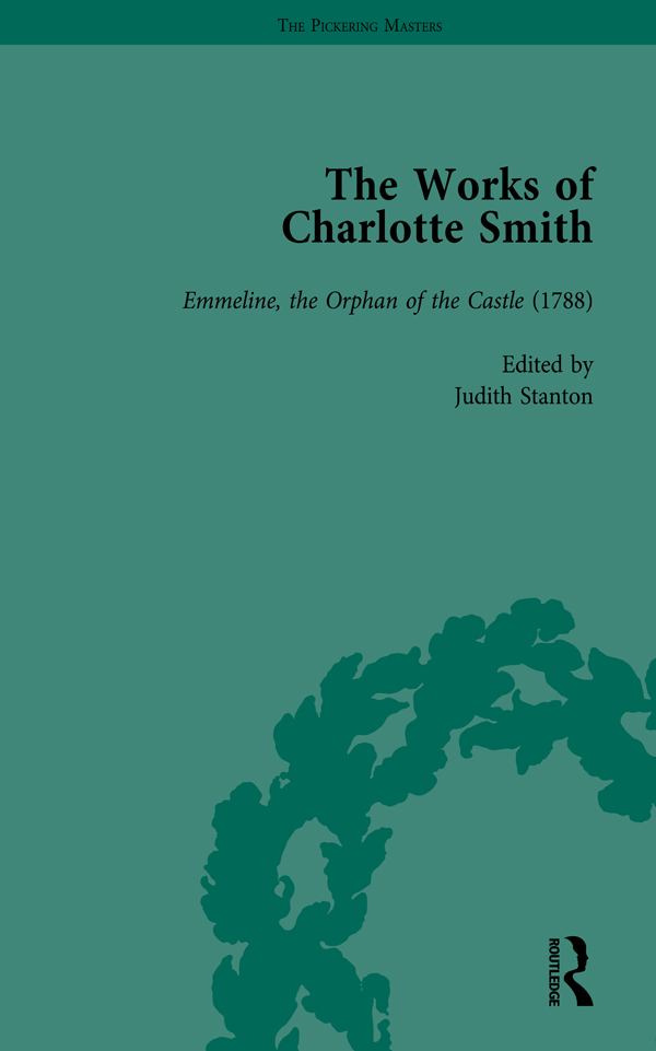 The Works of Charlotte Smith, Part I Vol 2: 1st Edition (Hardback) book cover