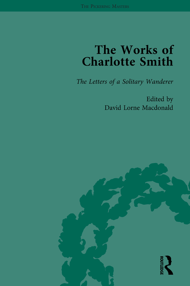 The Works of Charlotte Smith, Part III vol 11: 1st Edition (Hardback) book cover