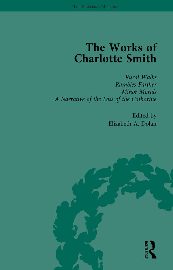 The Works of Charlotte Smith, Part III vol 12: 1st Edition (Hardback) book cover