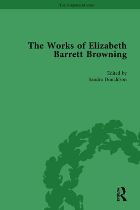 The Works of Elizabeth Barrett Browning Vol 3: 1st Edition (Hardback) book cover