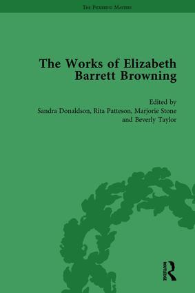 The Works of Elizabeth Barrett Browning Vol 5: 1st Edition (Hardback) book cover