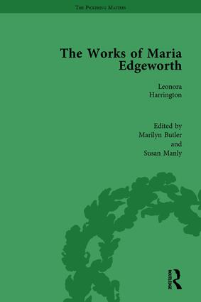 The Works of Maria Edgeworth, Part I Vol 3: 1st Edition (e-Book) book cover
