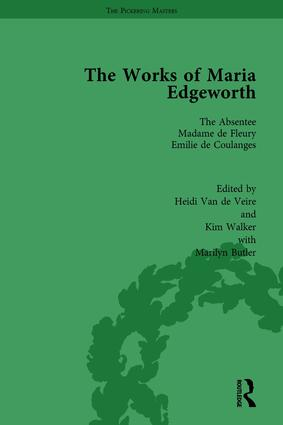 The Works of Maria Edgeworth, Part I Vol 5 book cover