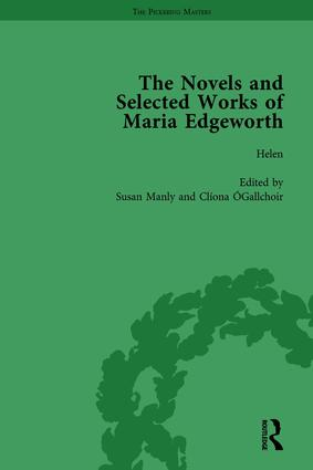 The Works of Maria Edgeworth, Part II Vol 9 book cover