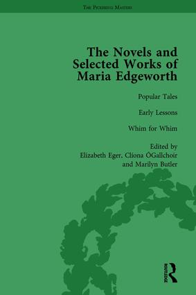 The Works of Maria Edgeworth, Part II Vol 12 book cover