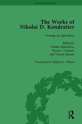 The Works of Nikolai D Kondratiev Vol 3: 1st Edition (Hardback) book cover