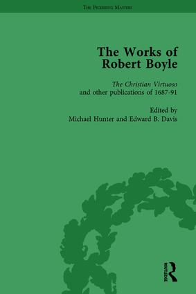 The Works of Robert Boyle, Part II Vol 4: 1st Edition (Hardback) book cover