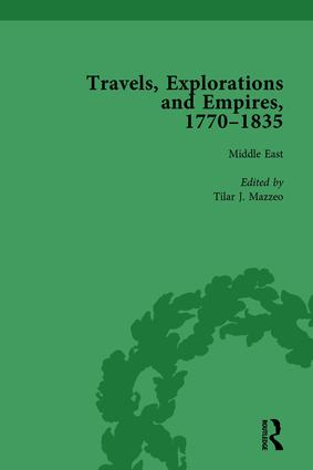 Travels, Explorations and Empires, 1770-1835, Part I Vol 4: Travel Writings on North America, the Far East, North and South Poles and the Middle East, 1st Edition (Hardback) book cover