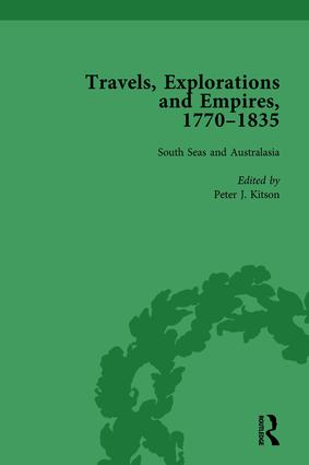 Travels, Explorations and Empires, 1770-1835, Part II vol 8: Travel Writings on North America, the Far East, North and South Poles and the Middle East, 1st Edition (Hardback) book cover