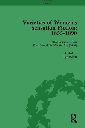 Varieties of Women's Sensation Fiction, 1855-1890 Vol 3: 1st Edition (Hardback) book cover