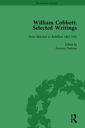 William Cobbett: Selected Writings Vol 2 book cover