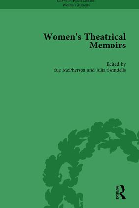 Women's Theatrical Memoirs, Part II vol 6: 1st Edition (Hardback) book cover