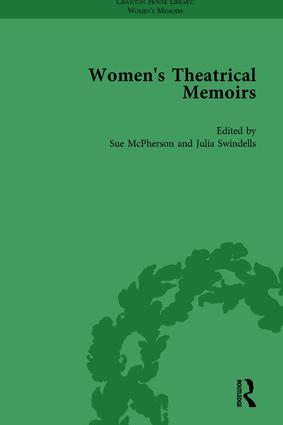 Women's Theatrical Memoirs, Part II vol 10: 1st Edition (Hardback) book cover