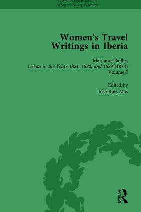 Women's Travel Writings in Iberia Vol 1: 1st Edition (Hardback) book cover