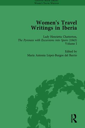 Women's Travel Writings in Iberia Vol 3: 1st Edition (Hardback) book cover