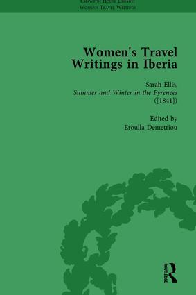 Women's Travel Writings in Iberia Vol 5: 1st Edition (Hardback) book cover